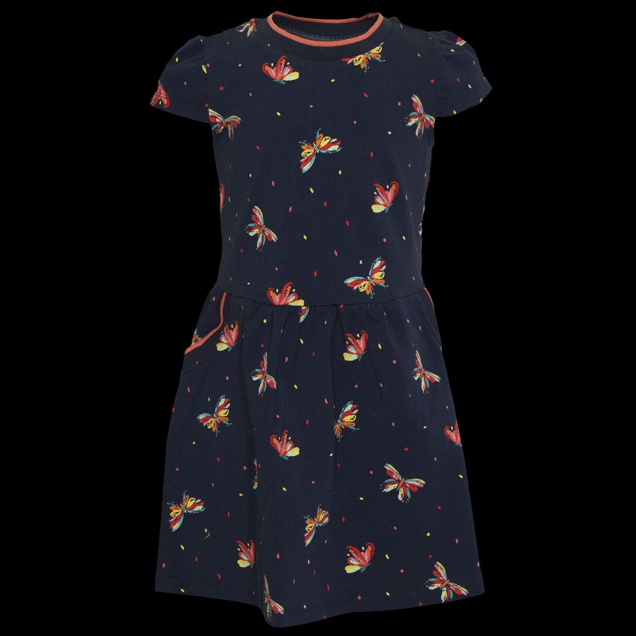 Kleid Schmetterling 92 Blau SOMEONE 100% Awesome