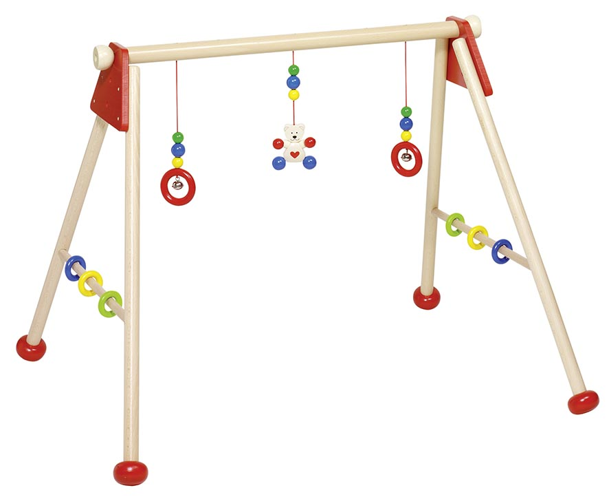 Baby-Fit Bär, unmontiert, Gre 63 x 55 x 53 cm, Holz, 3fach höhenverstellbar, per Stück