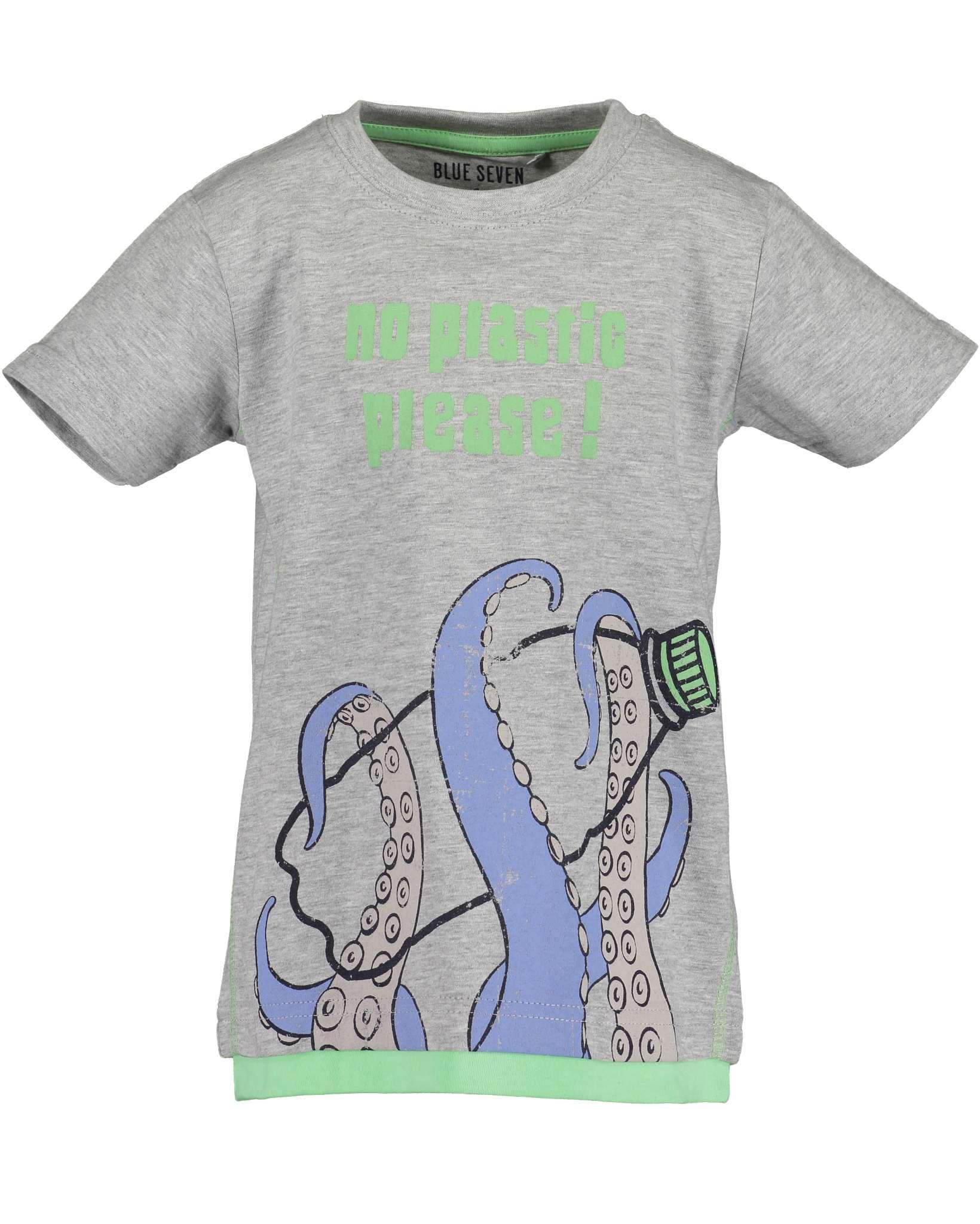 T-Shirt 116 nebel Blue Seven