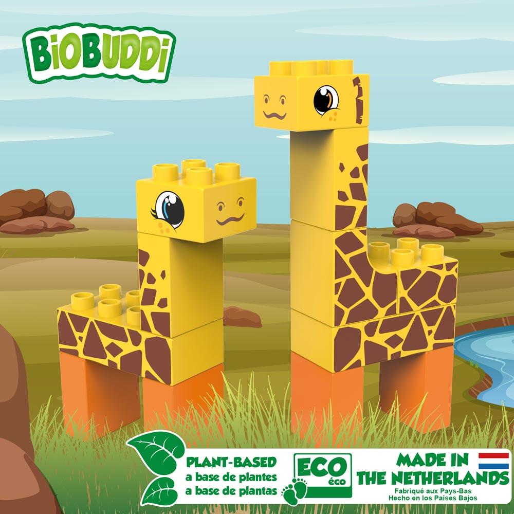 BiOBUDDi Set Giraffen/Steppe