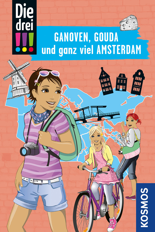 !!! Ganoven, Gouda, Amsterdam  Reisekrimi