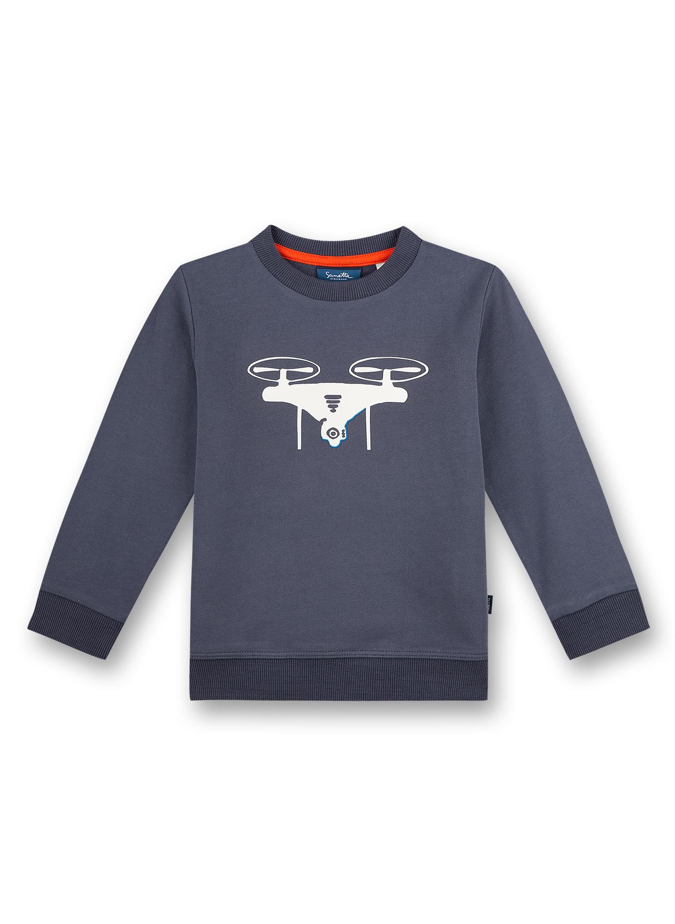Sweatshirt 122 dark blue Sanetta Kidswear