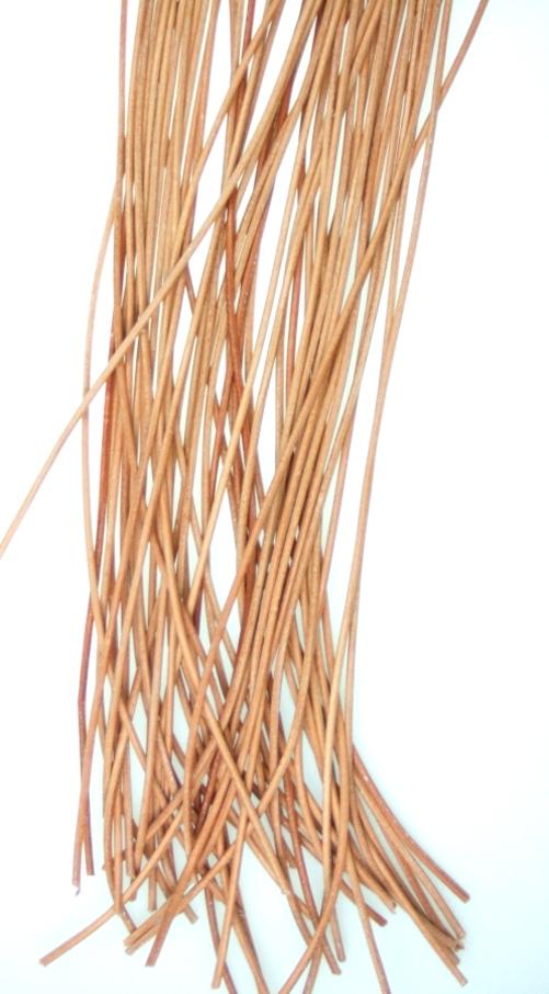 Lederband,2mm,natur /Schnur
