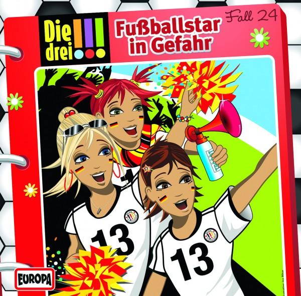 CD !!! 24 Fußballsta