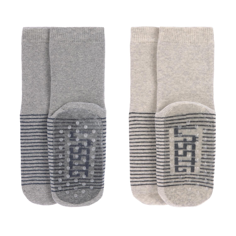 Anti-slip Socks 2 pcs assorte 27-30