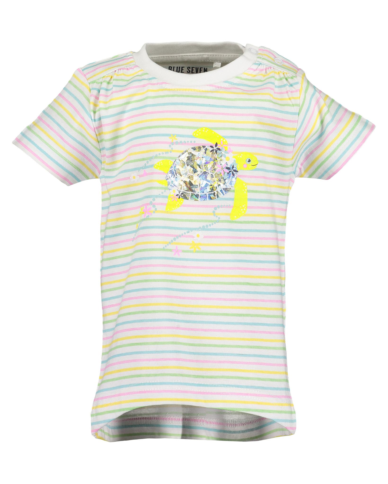 T-Shirt 080 weiss Blue Seven
