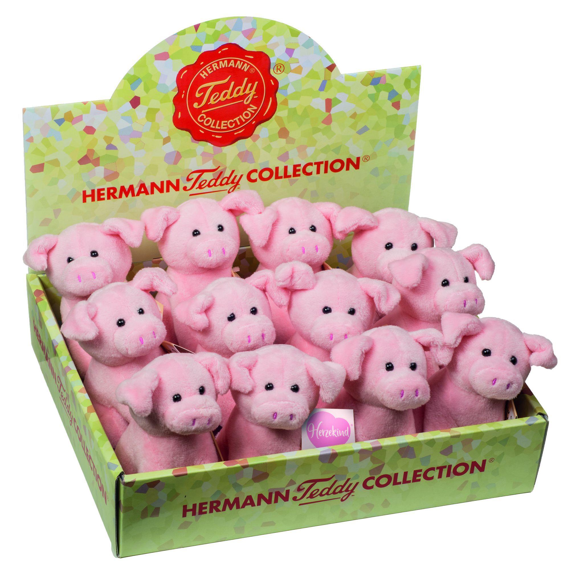 12 Schweinchen 11 cm