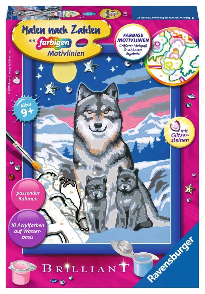 Süße Wolfsfamilie      MnZ So