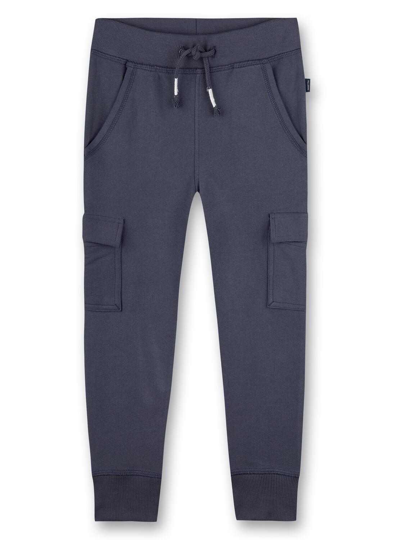 Pants long 122 dark blue Sanetta Kidswear