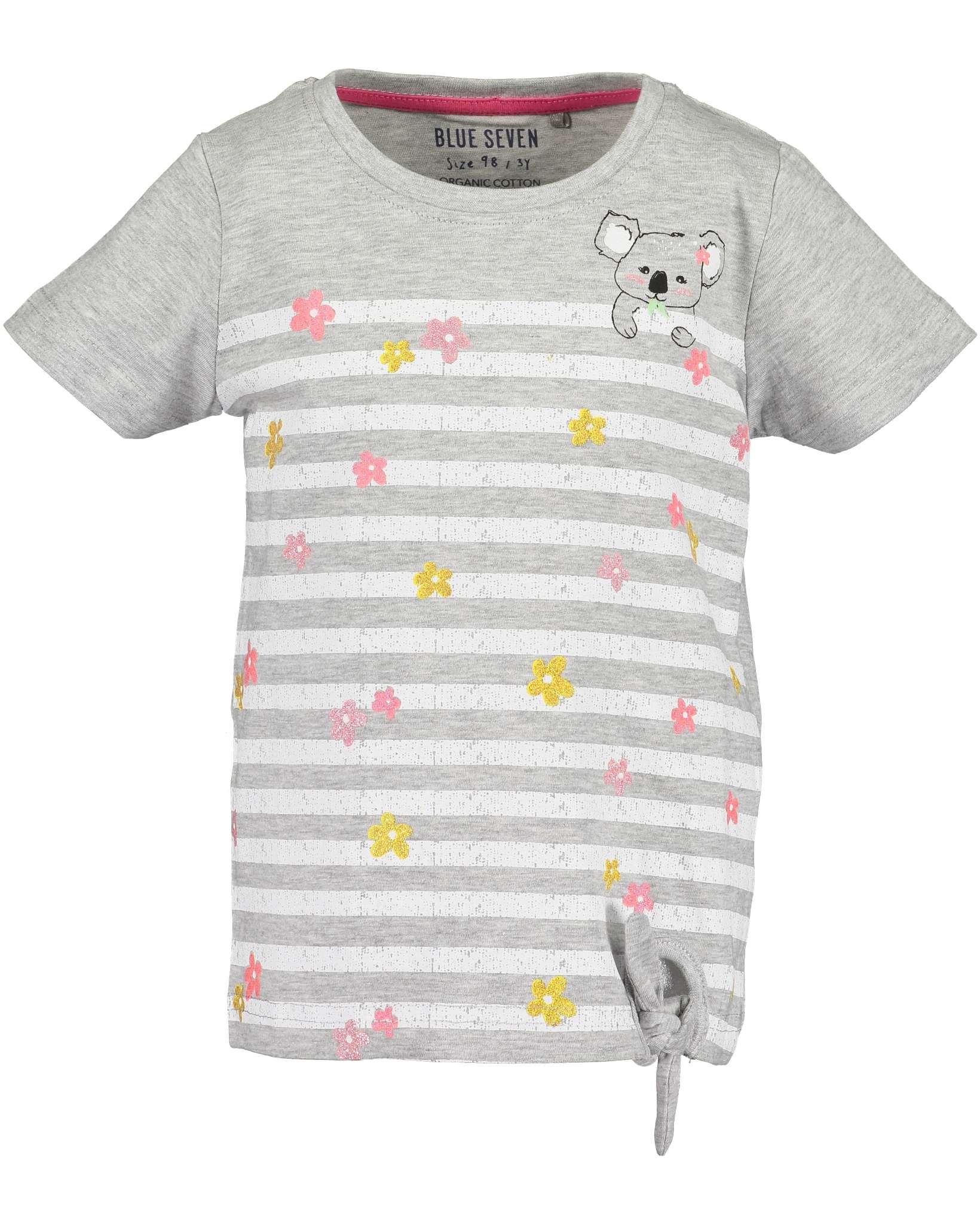 T-Shirt 092 nebel Blue Seven