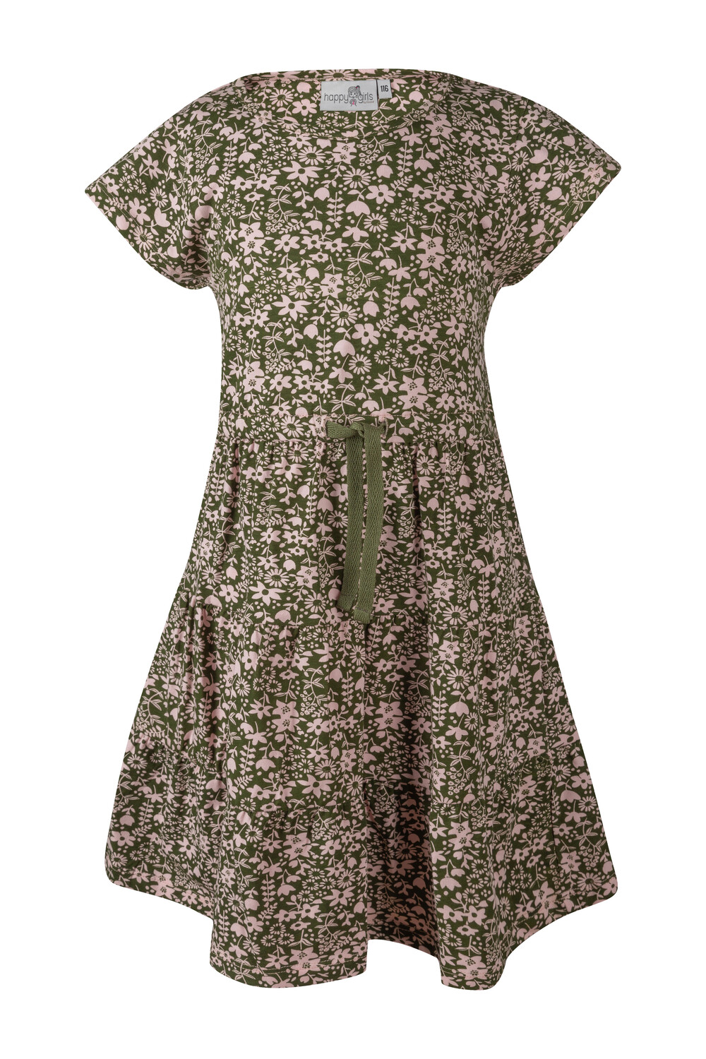 Kleid rosa Blümchen 116 khaki happy girls by Eisend