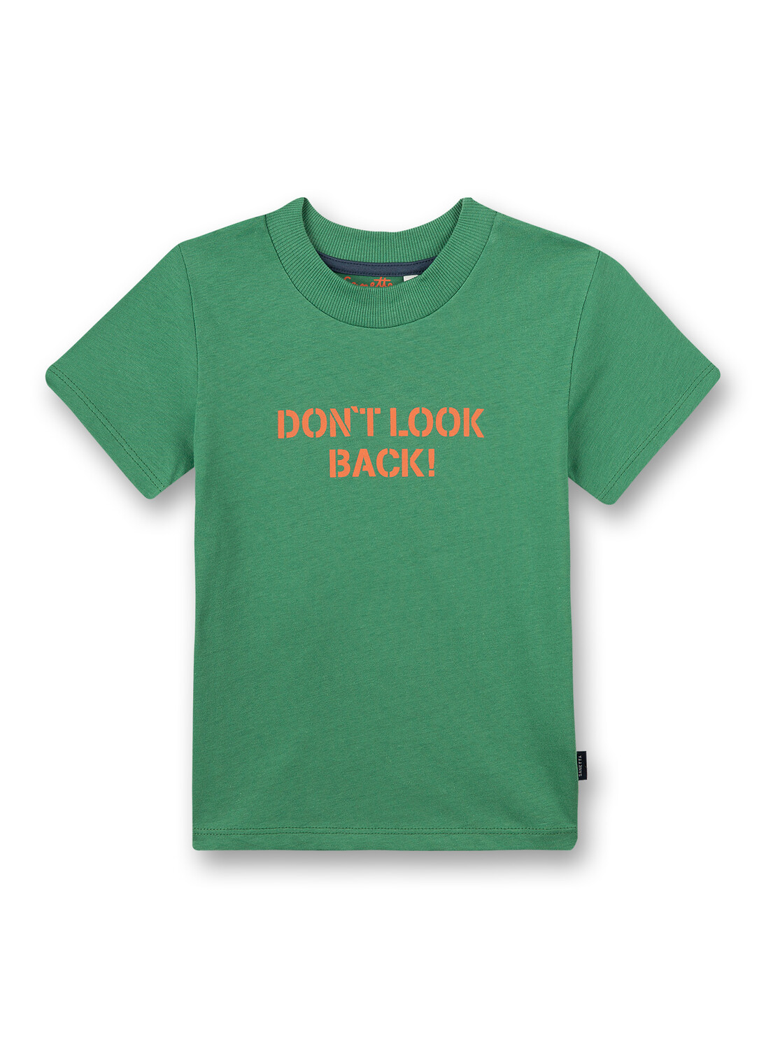T-Shirt 128 medium green Sanetta Kidswear