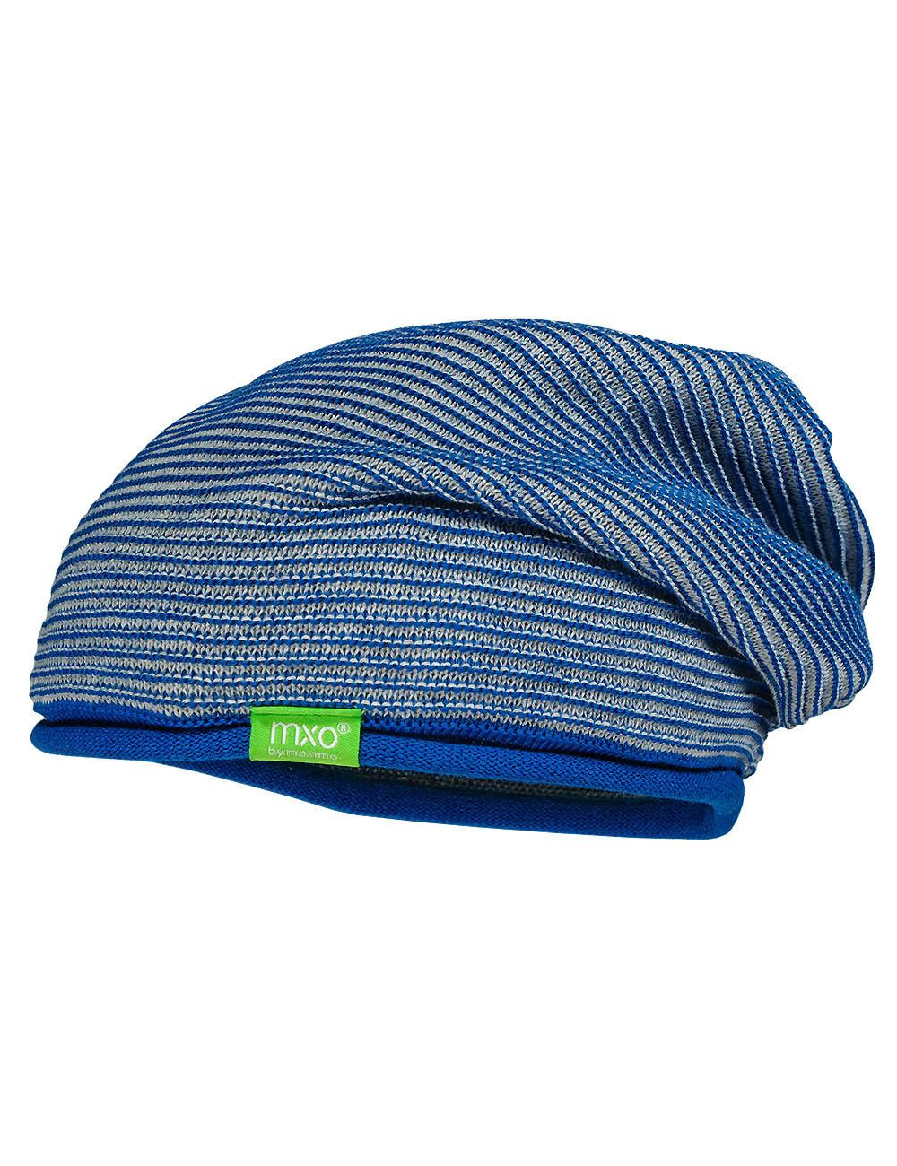 Beanie middle 53 Maximo. Farbe: classic blue/hellgraumeliert, Größe: 53