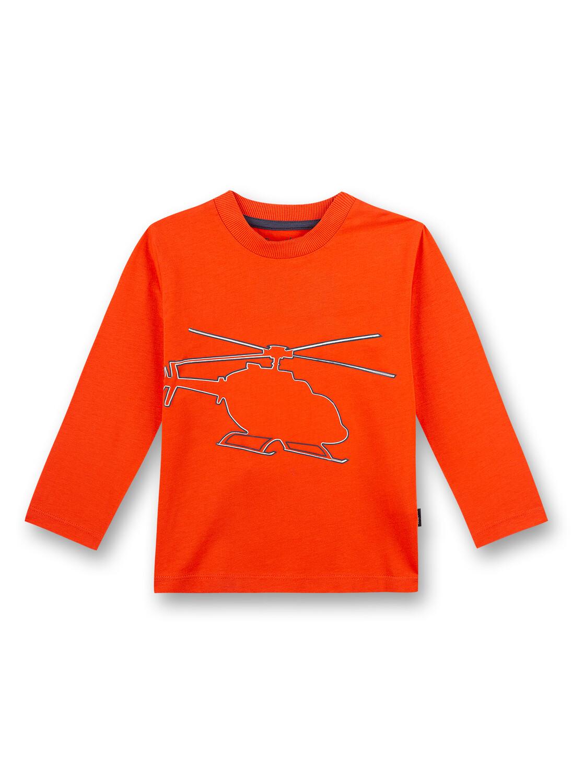 Shirt 116 fire Sanetta Kidswear