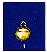 Schelle klein Glöckchen, gold 1cm