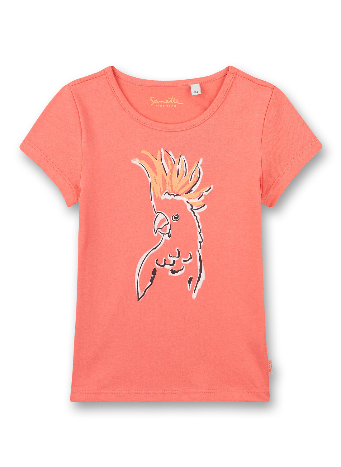 T-shirt 128 light pink Sanetta Kidswear