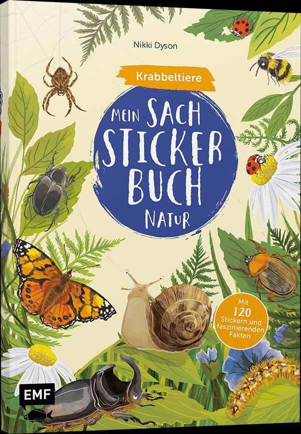 Mein Sach-Stickerbuch Natur –