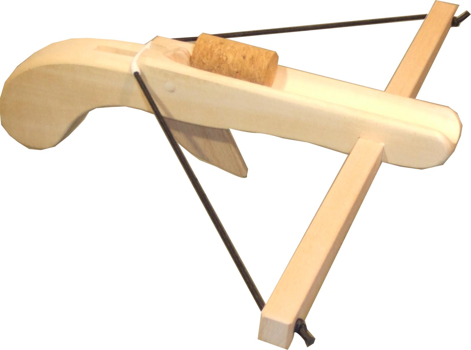 Armbrust natur aus Holz incl.1 Korken