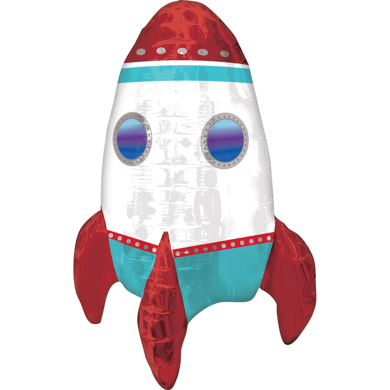 CI Multi-Folienballon Rakete