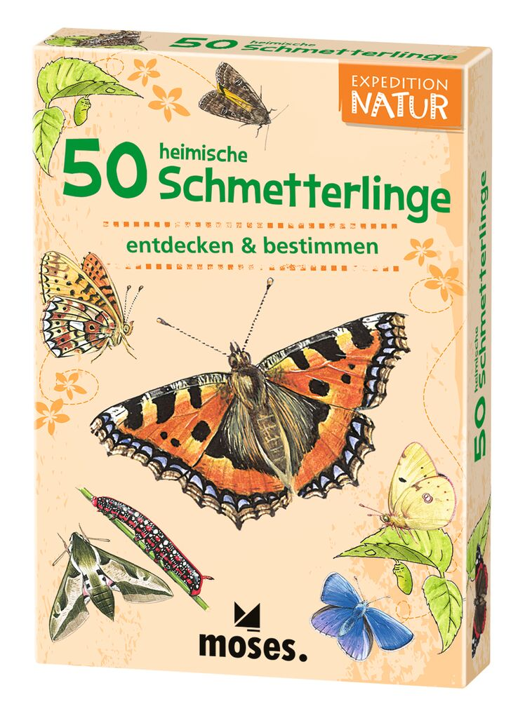 50 heimische Schmetterlinge Expedition Natur