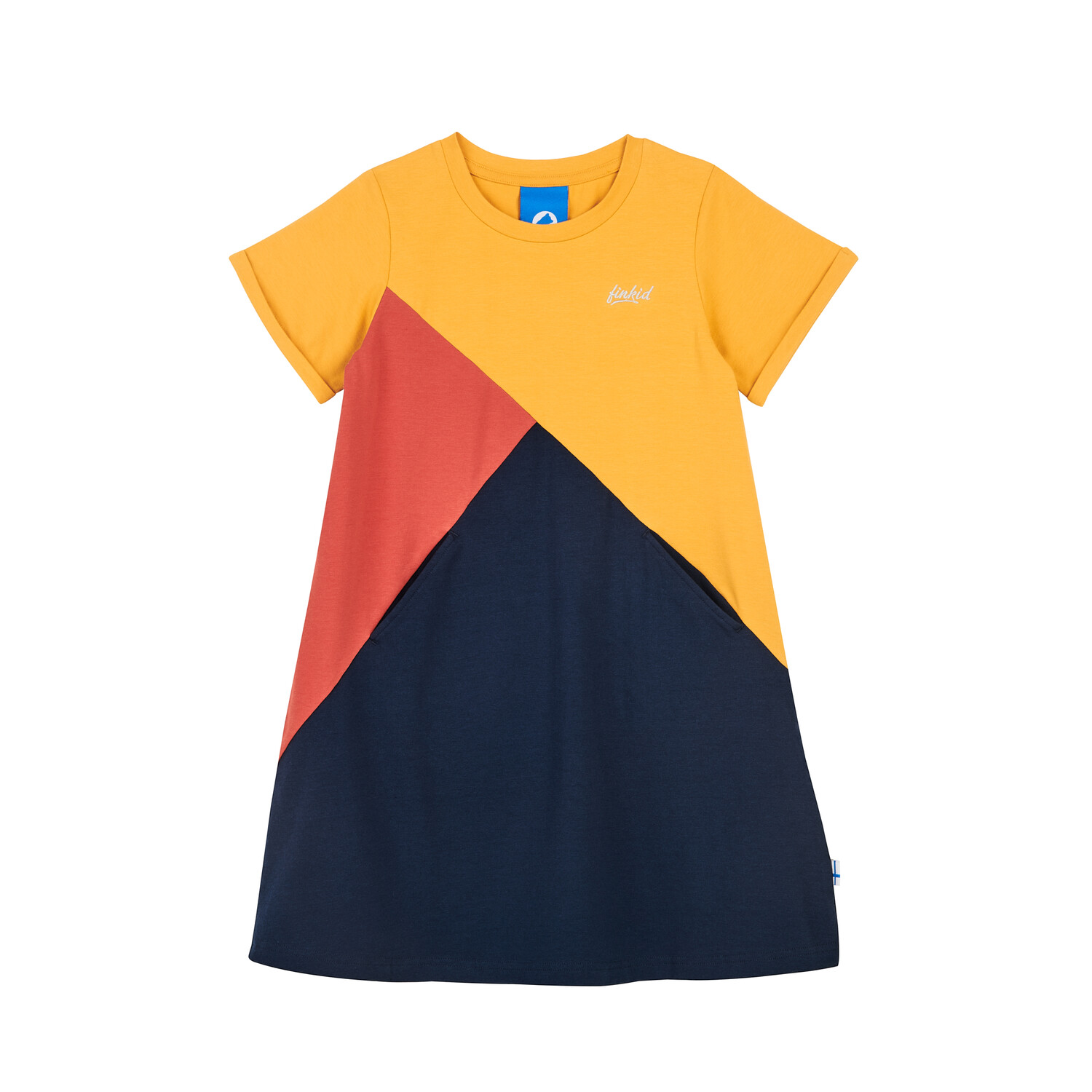 MERIKORTTI golden yellow/chil dress  110/120 Finkid®