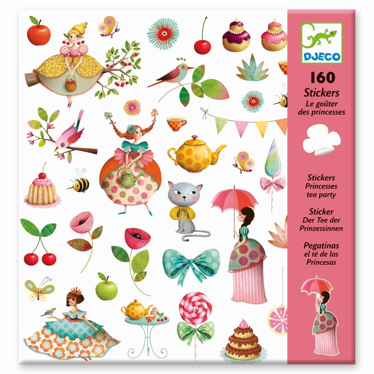 Sticker Princess Tea Party