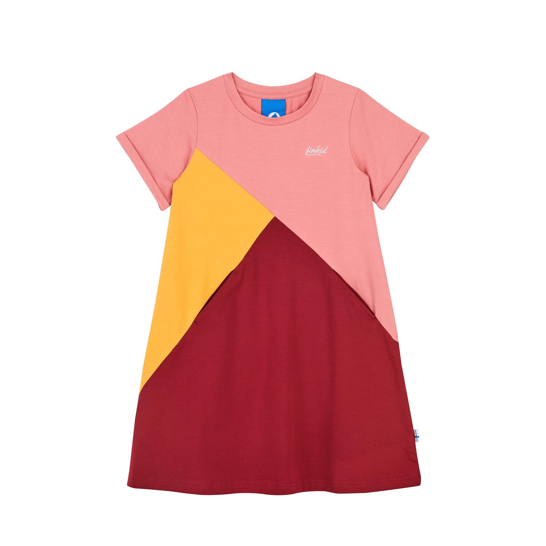MERIKORTTI rose/golden yellow dress  090/100 Finkid®
