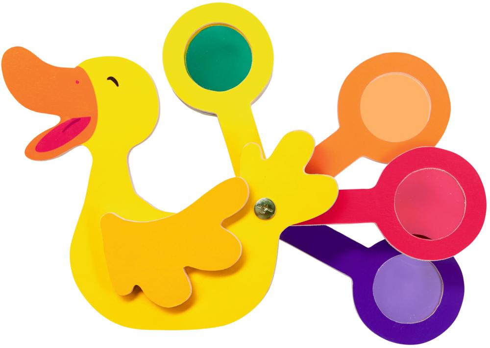 Farbfächer Ente Lotte - Die Lieben Sieben