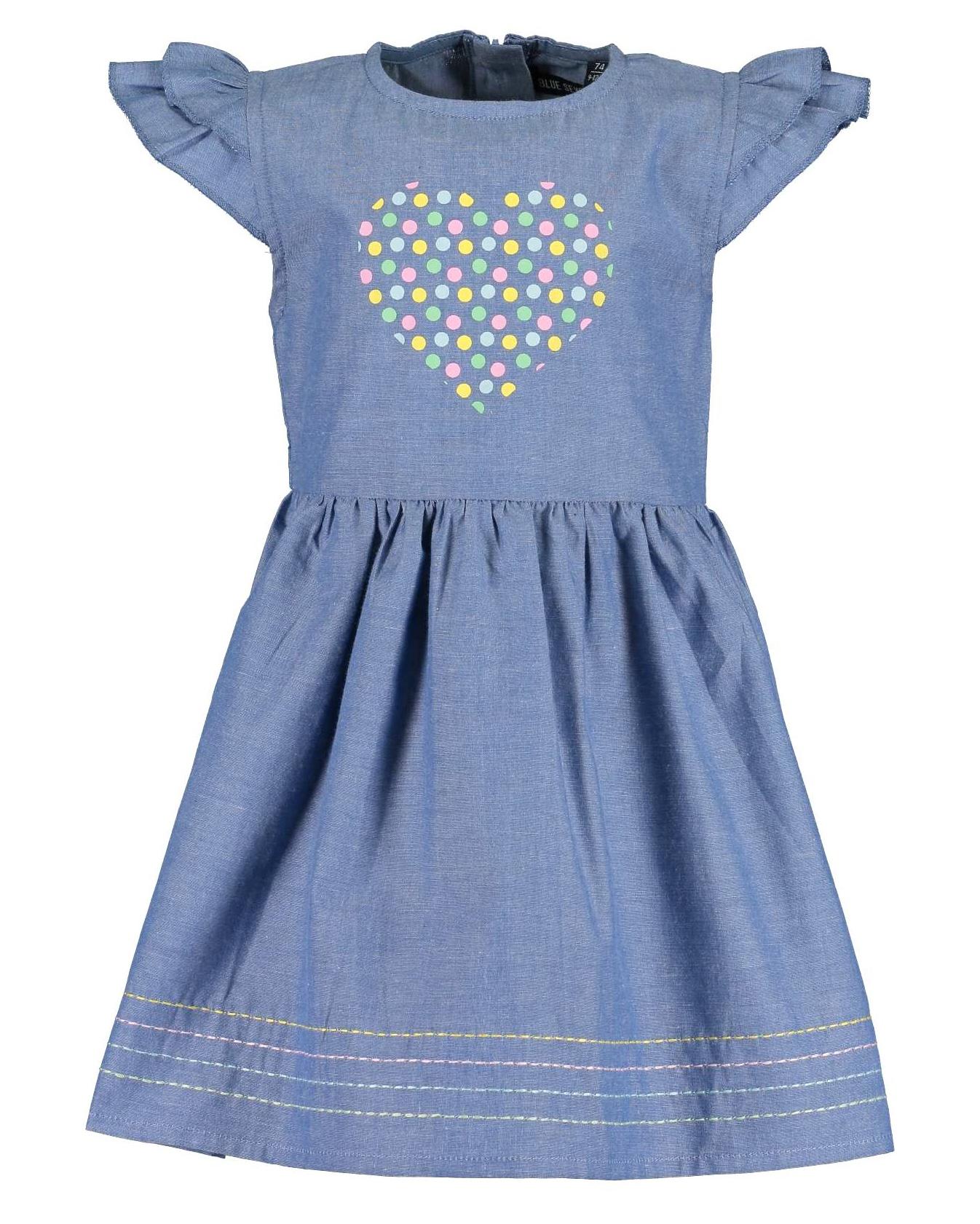 Kleid 086 denim Blue Seven