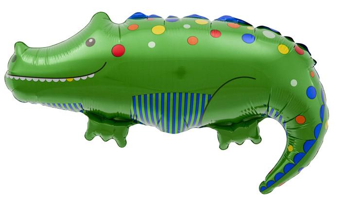 Folienballon Krokodil Luftballon