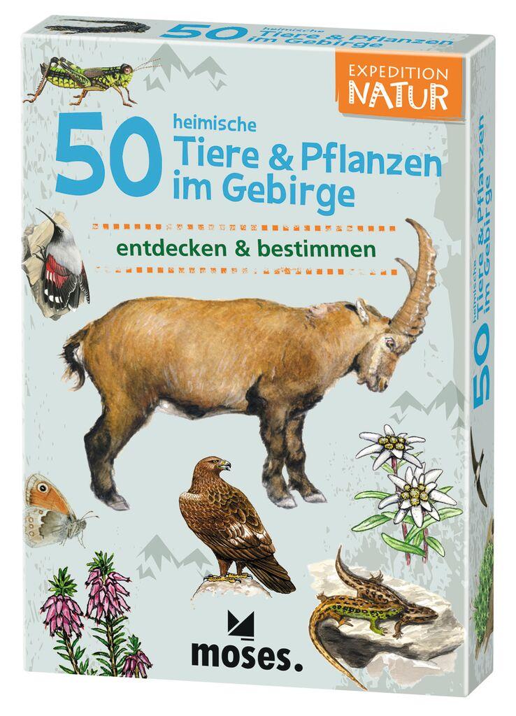 ExpNat 50 heimische Tiere&Pla