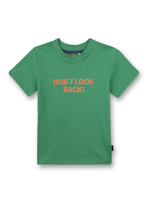 T-Shirt 140 medium green Sanetta Kidswear