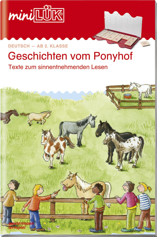 miniLÜK Geschichten vom Ponyhof