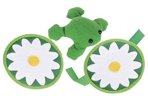 Frosch Klettfangspiel Ø= 12,5 cm
