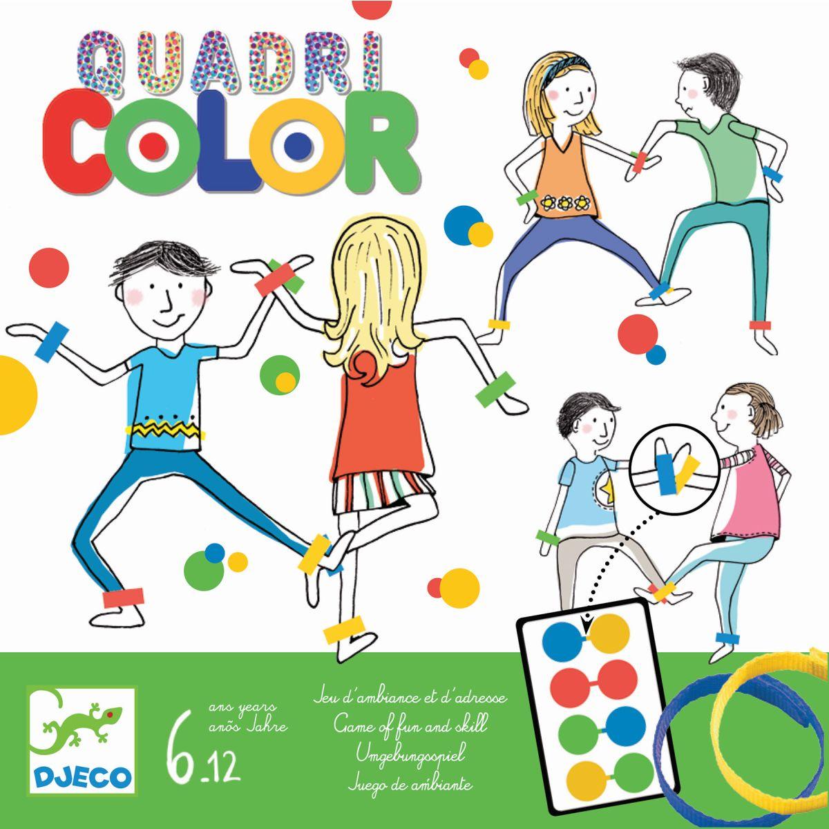 Spiel Quadri Color