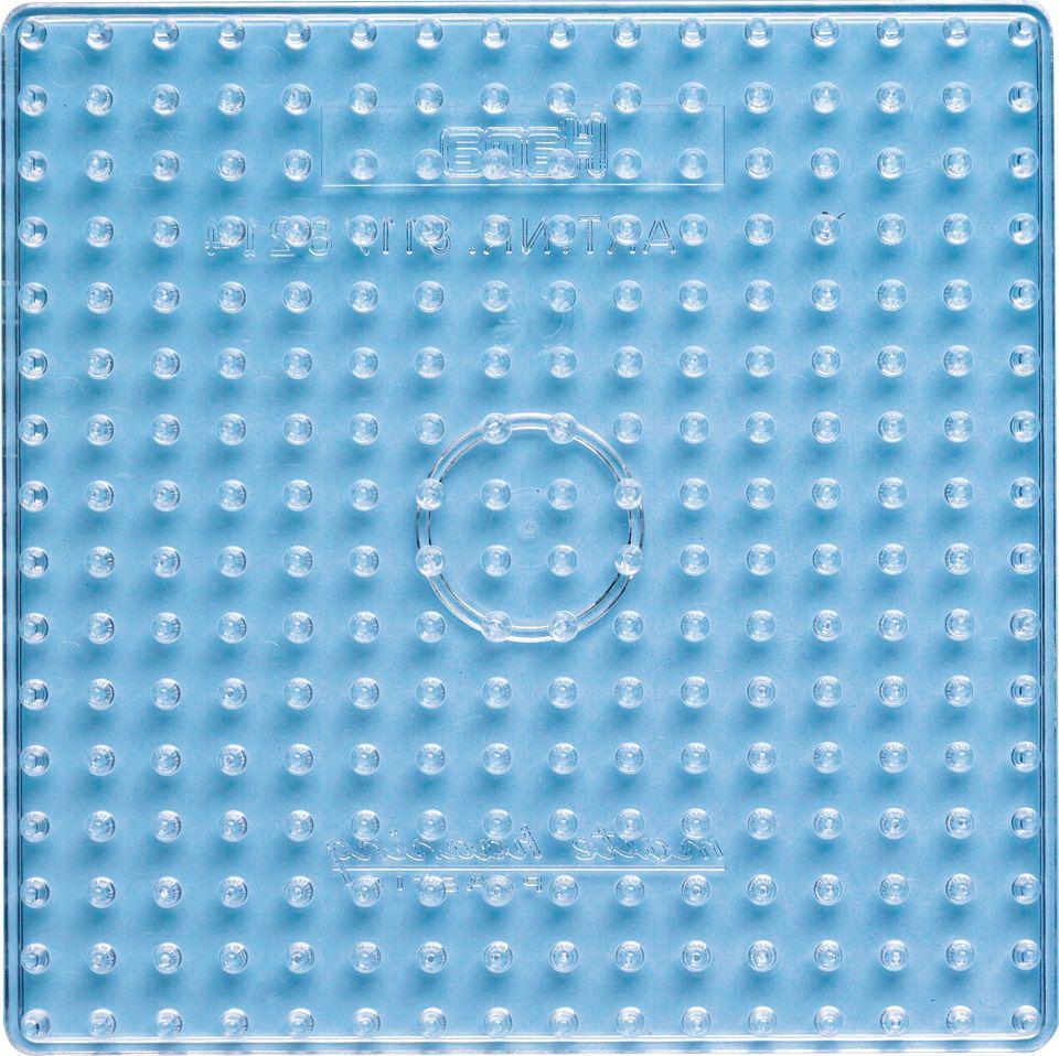 Maxi-Stiftpl. transparent HAMA Maxi Stiftpl. Quadrat