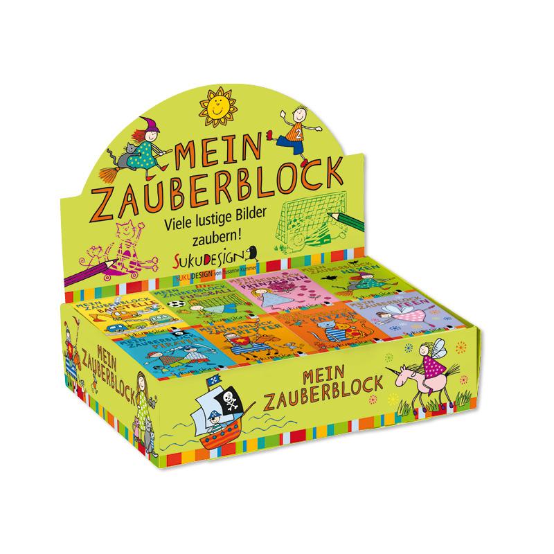 SUKU Zauberblock A8