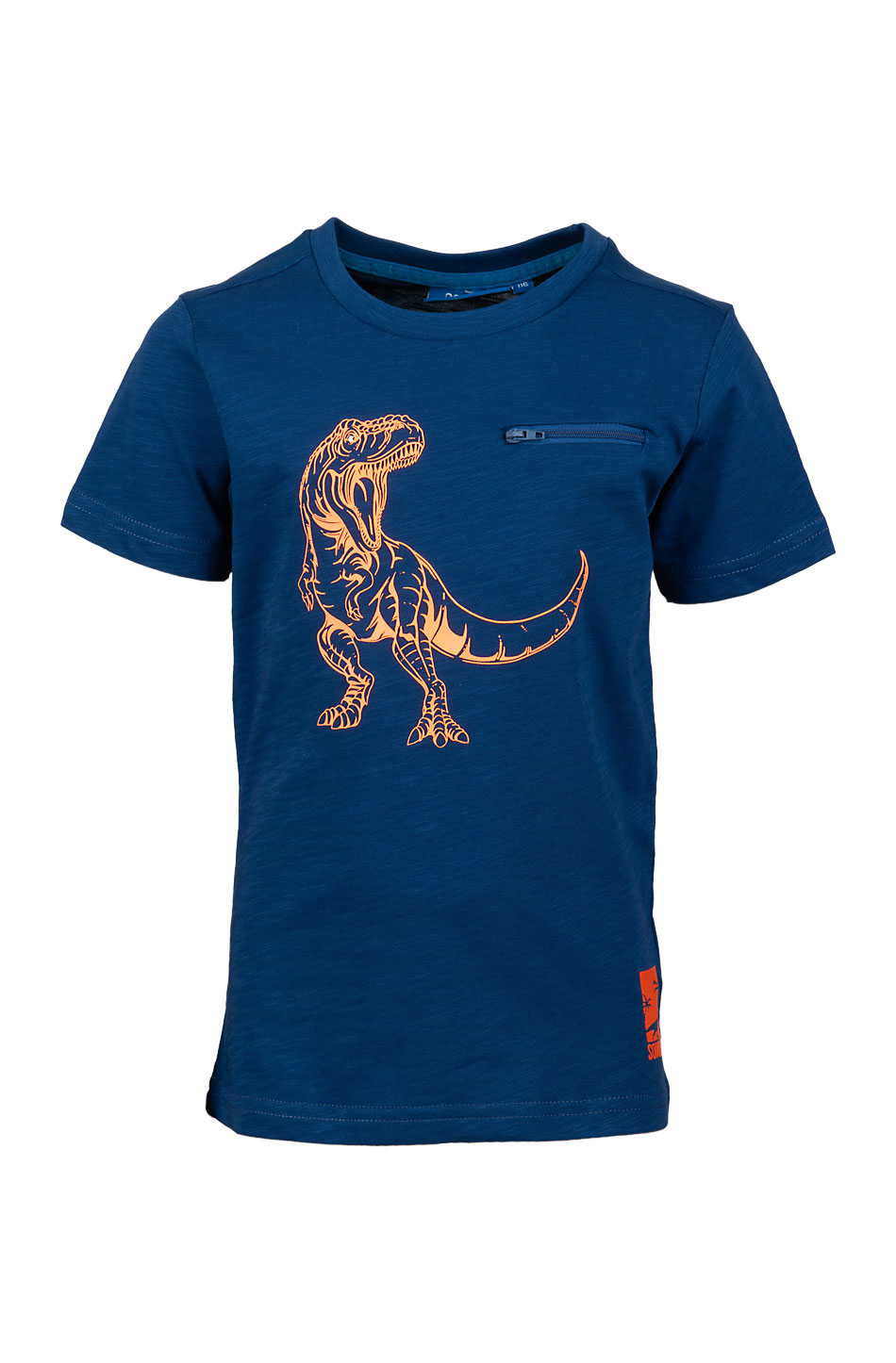 T-Shirt T-Rex 140 Blue SOMEONE 100% Awesome