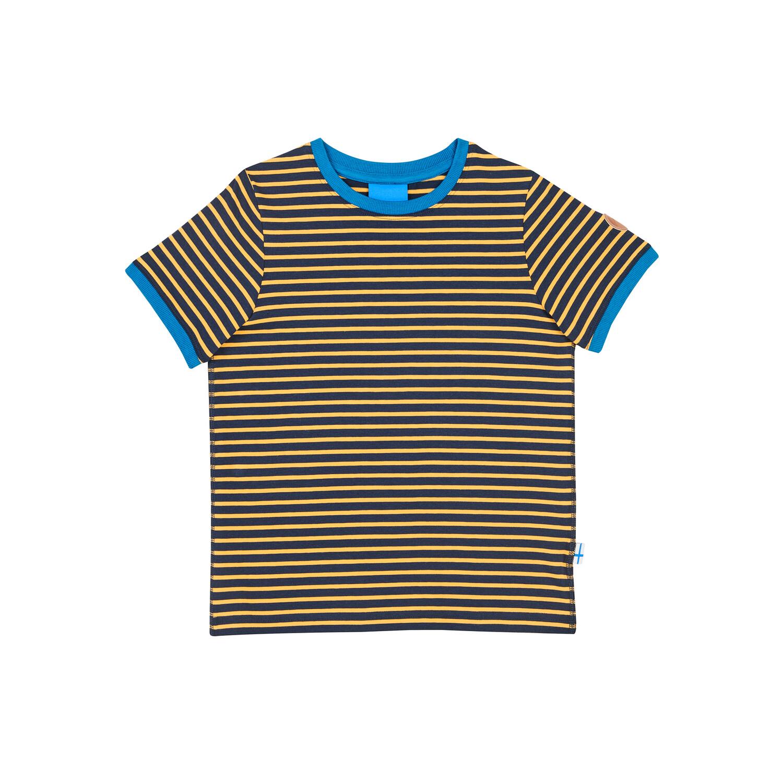 RENKAAT navy/golden yellow T-shirt  110/120 Finkid®
