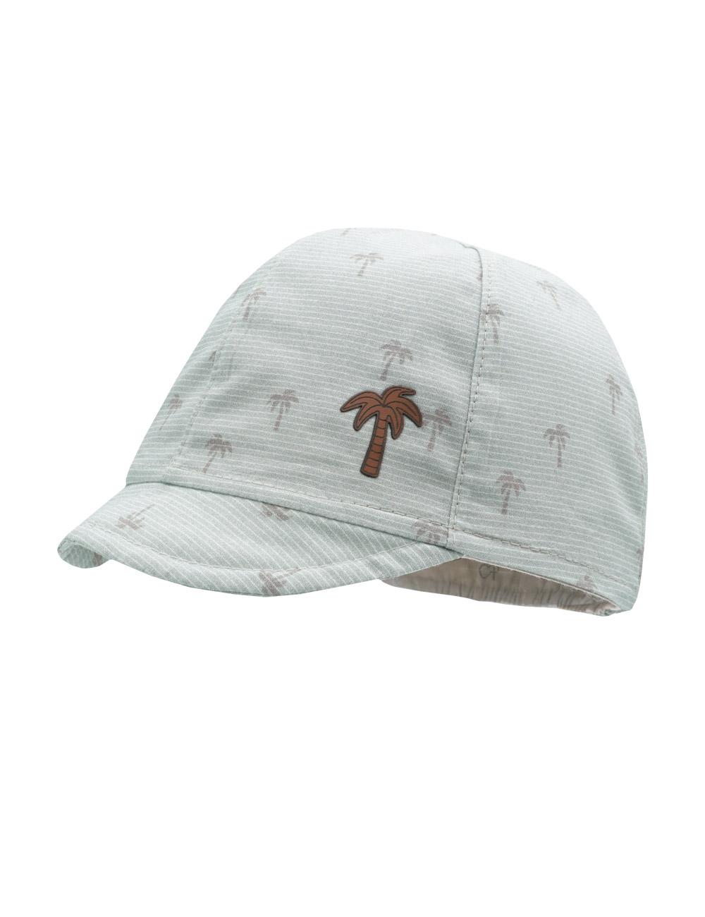 BOY-Cap Palmen 45 Maximo. Farbe: nebelgrau-lamm-palme, Größe: 45