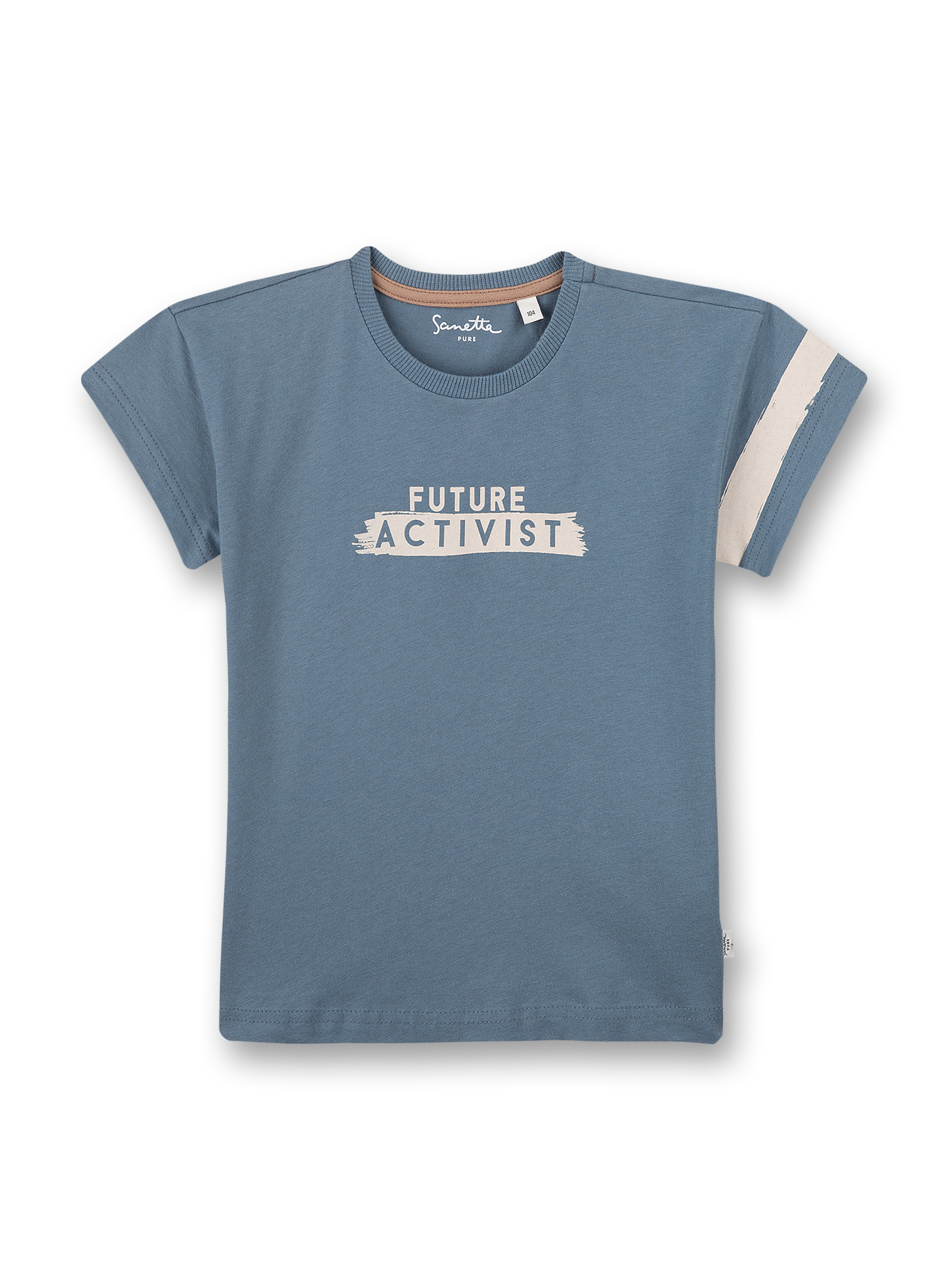 T-Shirt 104 faded blue Sanetta PURE