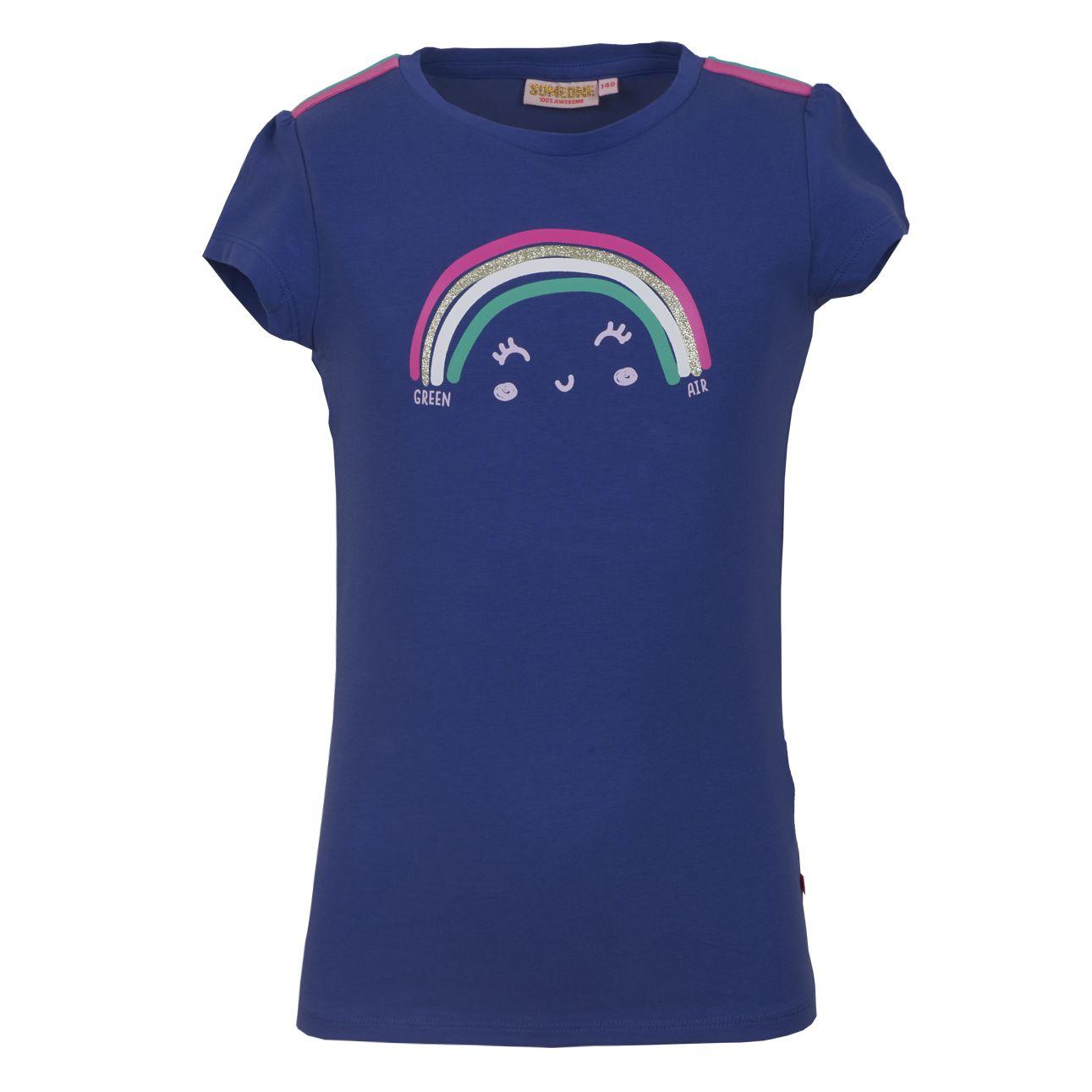 T-Shirt Regenbogen 098 Kobalt SOMEONE 100% Awesome