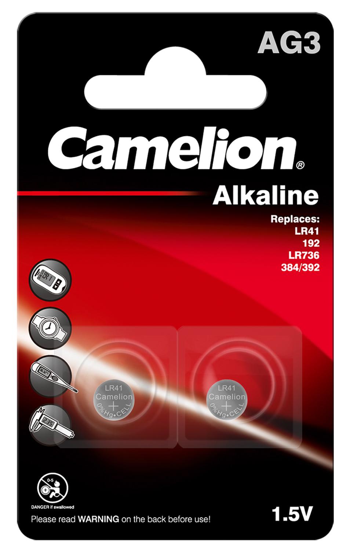 Knopfzellen Alkaline AG3 2er