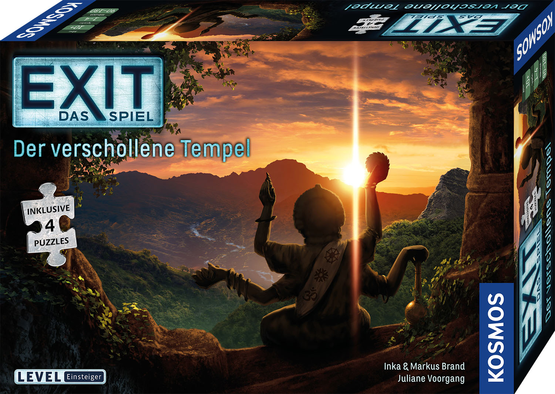 EXIT-Puzzle Verschollener Tempel