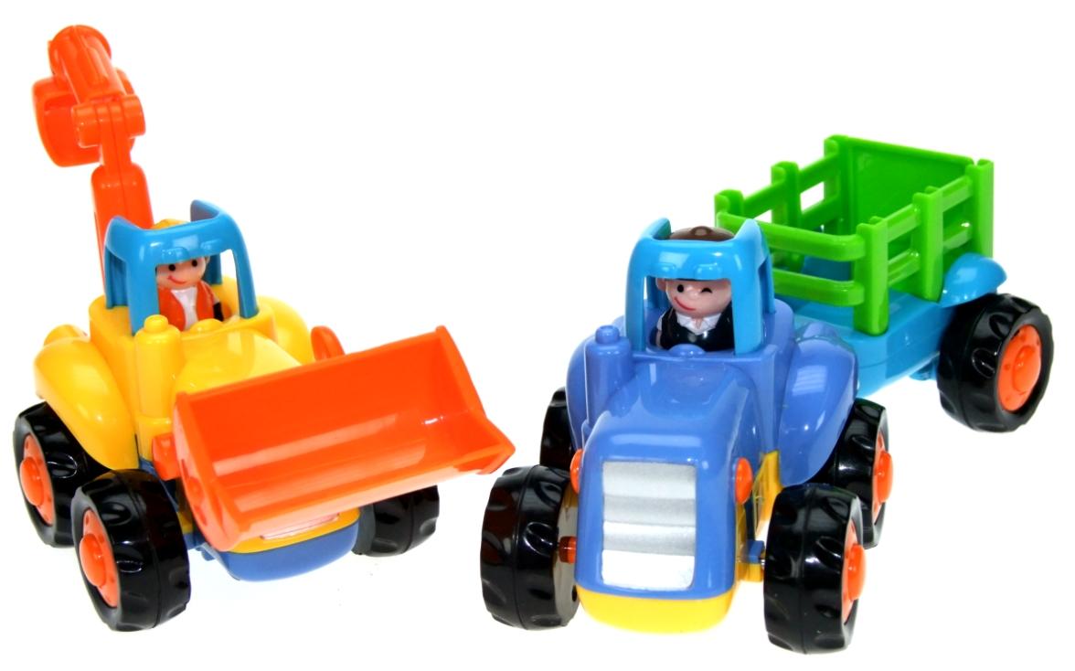 Friktionsfahrzeug Bagger/Traktor