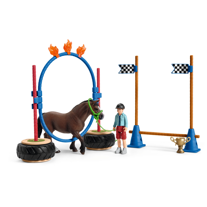Pony Agility Rennen