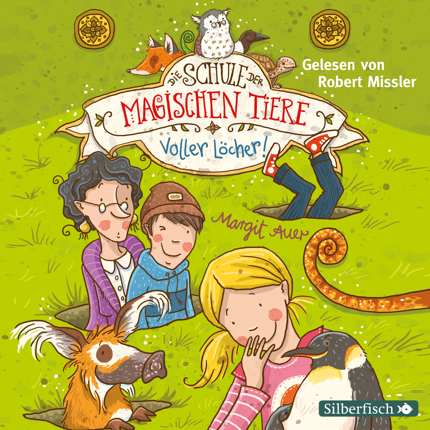 Auer,Schule mag.Tiere 2  2CD