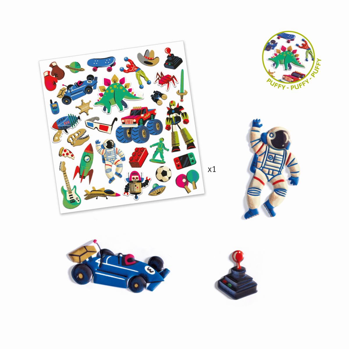 Sticker: Retro toys