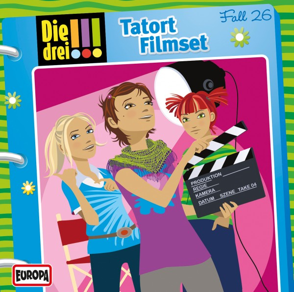 Die drei !!! CD 26 Tatort Fil