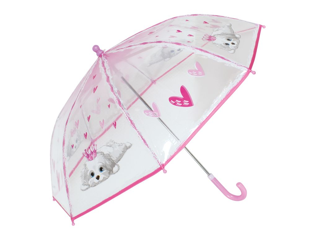 Regenschirm Hund